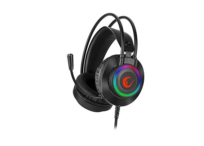 Rampage RM-K27 X-JAMMER 3,5mm 7 Renk Ledli Gaming Oyuncu Mikrofonlu Kulaklık