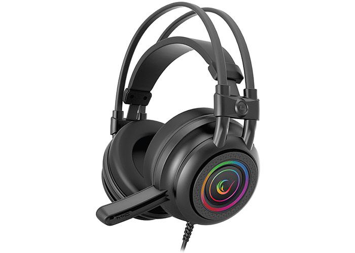Rampage RM-K2 X-QUADRO Siyah USB 7,1 Version RGB Işık Efektli Oyuncu Mikrofonlu Kulaklık