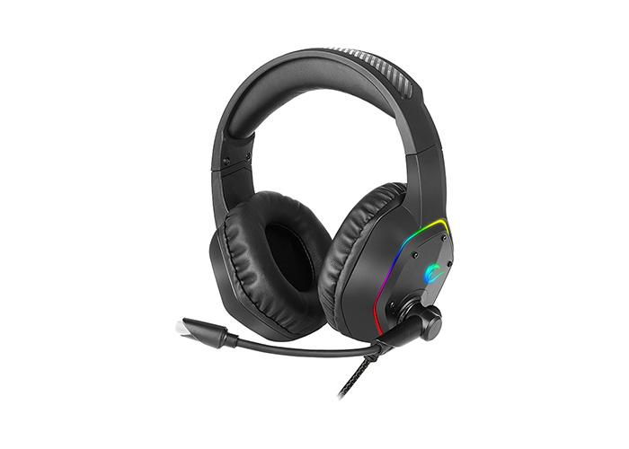 Rampage RM-K33 X-TRACER 7,1 Usb Surround RGB Işık Efektli Gaming Oyuncu Mikrofonlu Kulaklık