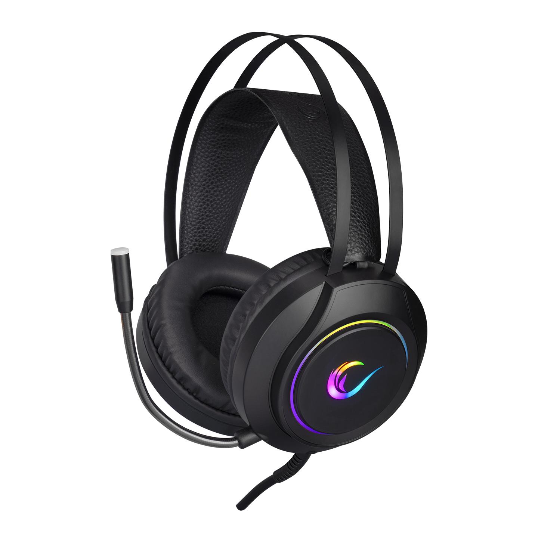 Rampage RM-K45 ORBIT-S Siyah RGB Led 7.1 Gaming Mikrofonlu Oyuncu Kulaklığı