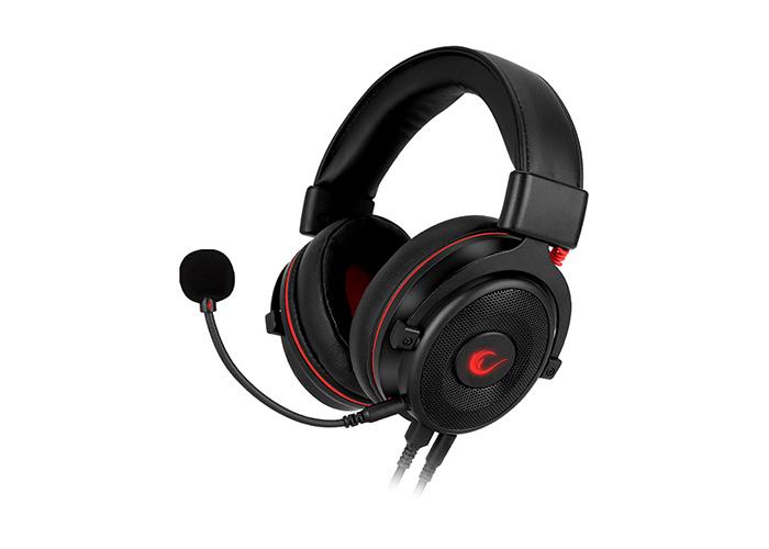 Rampage RM-K60 DROP PLUS All in One Usb 7,1 Typ-C ve 3.5mm Çıkışlı Surround Gaming Oyuncu Mikrofonlu Kulaklık