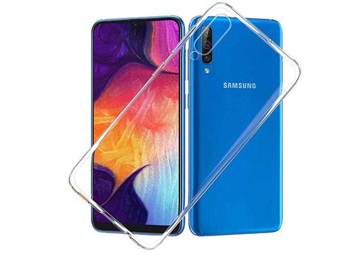 Addison SAM-A30 Şeffaf Samsung Galaxy A50 Telefon Kılıfı