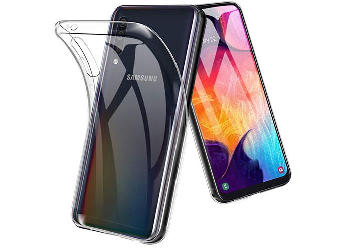 Addison SAM-A50 Şeffaf Samsung Galaxy A50 Telefon Kılıfı