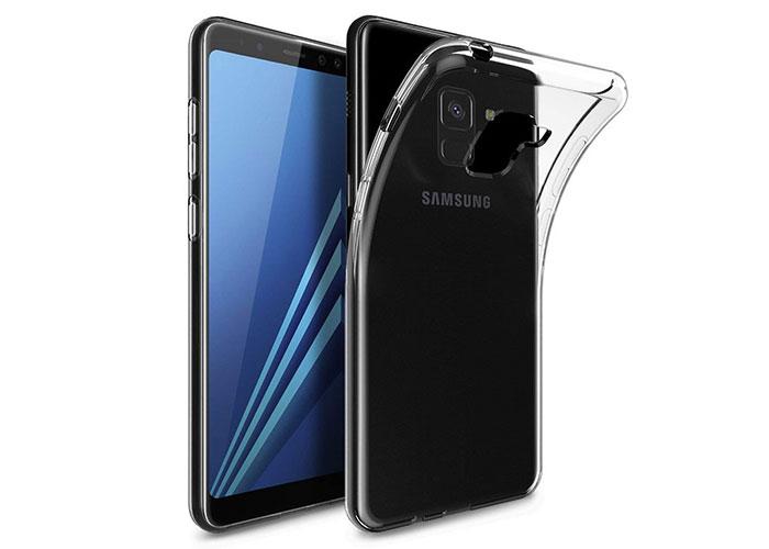 Addison SAM-A800 Şeffaf SAMSUNG A8 2018 Telefon Kılıfı