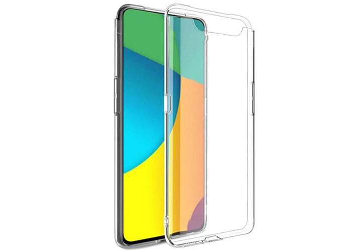 Addison SAM-A80 Şeffaf Samsung Galaxy A80 Telefon Kılıfı