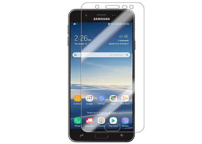 Addison SAM-CJ704 Şeffaf Samsung Galaxy J7 PRIME 2 Cam Ekran Koruyucu