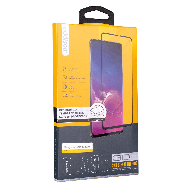 Addison SAM-CS10 Samsung S10, İz Bırakmaz Ekran Koruyucu