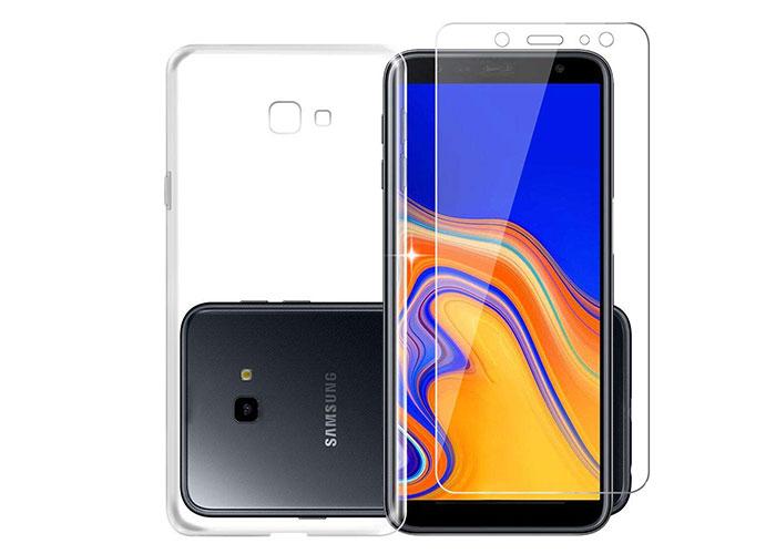 Addison SAM-J4P Şeffaf Samsung J4 Plus Kılıf