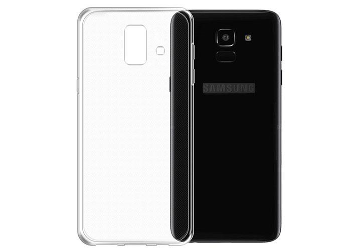 Addison SAM-J6P Şeffaf Samsung J6 Plus Kılıf