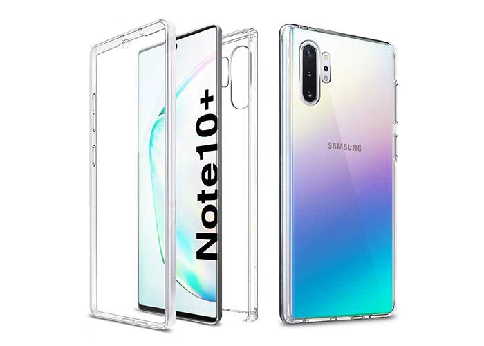Addison SAM-NOTE10PRO Beyaz Samsung Note 10 Plus Şeffaf Koruma Kılıfı