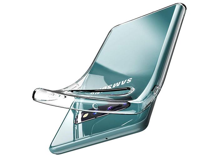 Addison SAM-S10 Şeffaf Samsung S10 Telefon Kılıfı