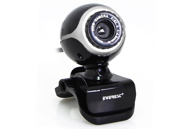 Everest SC-626 Usb Microphone Black / Silver Pc Camera