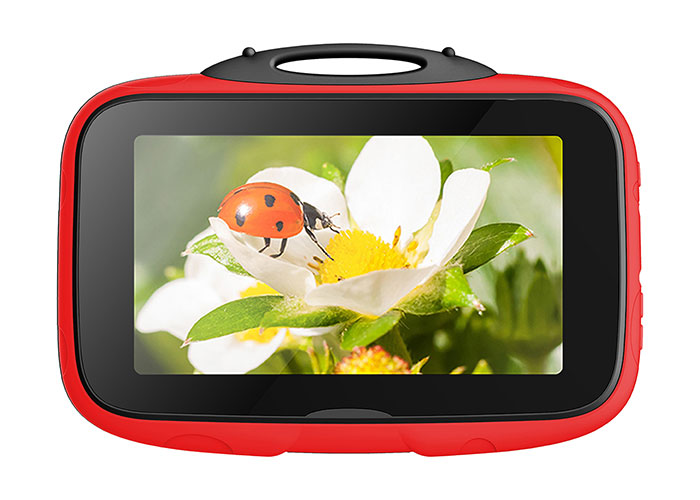 Everest EVERPAD SC-735 Happy Kids Wifi-Dual Camera 2500mAh 7  LCD 1GB 16GB Android Red Tablet