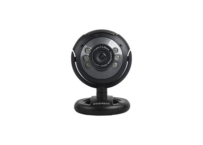 Everest SC-824 300K Usb Mikrofonlu Görüş Ledli Pc Kamera