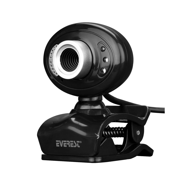 Everest SC-826 Pixels 0.3 Mega , 640x480 Usb Mikrofonlu Görüş Ledli Pc Kamera