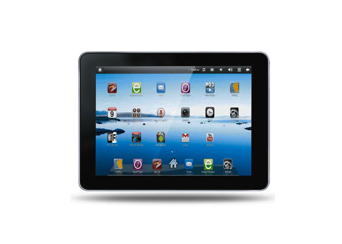 Everest EVERPAD SC-900 9 512MB DDR3 1.2GHz 8GB Çift Kamera Parlak Siyah Android 4.03 Tablet Pc