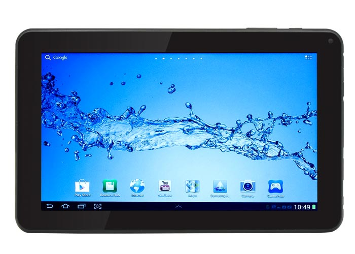 Everest EVERPAD SC-902 9 1GB DDR3 1.2GHz 8GB Çift Kamera Parlak Siyah Android 4.1 Tablet Pc