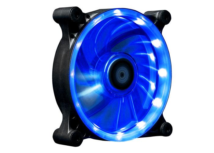 Xigmatek SEII-F1251 Solar Eclipse II 120*120*25mm Mavi Led Işıklı Kasa Fanı