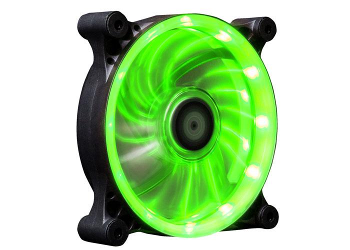Xigmatek SEII-F1253 Solar Eclipse II 120*120*25mm Yeşil Led Işıklı Kasa Fanı