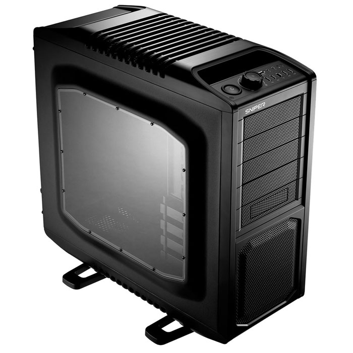 Cooler Master SGC-6000-KWN1-GP SNIPER SEE-THROUGH Siyah Kasa