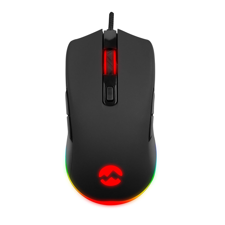 Everest SGM-L1 LUMOS Siyah 6400dpi RGB Ledli Makrolu Gaming Oyuncu Mouse