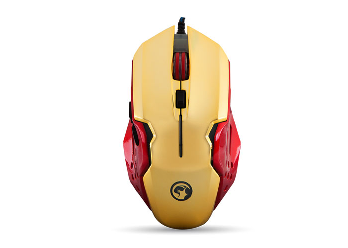 Everest SGM-X8 Usb Red/Gold Wrap Gaming Mouse Pad and Gaming Mouse