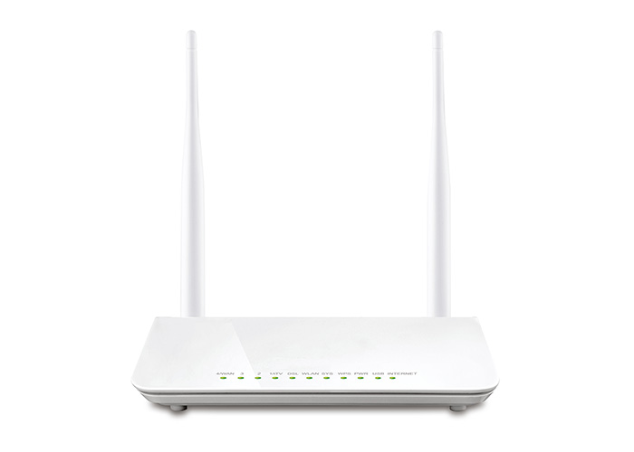 Everest SG-1600 Ethernet 4 Port 300Mbps Repeater + Bridge Uyumlu Kablosuz 5dbn 2Ant.ADSL Modem