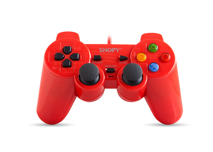 Snopy SG-302 Red USB 1.8m Cable Joypad
