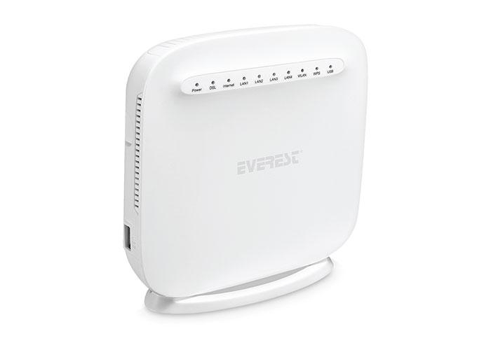 Everest SG-DSL2017 Ethernet 300Mbps Kablosuz Dahili Anten VDSL/ADSL2+ Modem Router