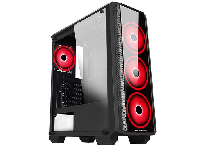 Xigmatek EN42531 SIROCON II X-Power 650W Kırmızı Fan Usb 3.0 Temper Camlı Gaming Oyuncu Kasası