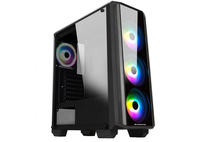 Xigmatek EN42548 SIROCON II X-Power 650W 4*12cm RGB Fan 1*Usb 3.0 + 2* Usb 2.0 TG Panel Oyuncu Kasası