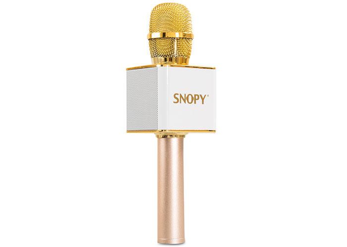Snopy SKR-02M Beyaz Karaoke Mikrofon