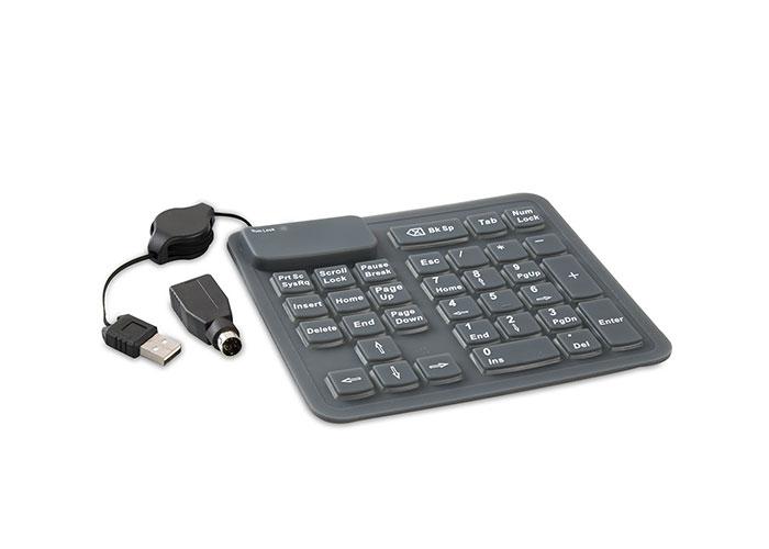 Everest SK-1086 Usb/PS/2 Katlanabilir Combo Standart Numerik Klavye