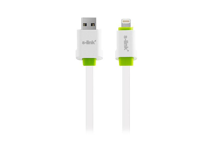 S-link SLP-136 2100MA iPhone 5/5s/6/6 Plus 2m Hızlı Şarj Data + Şarj Kablosu