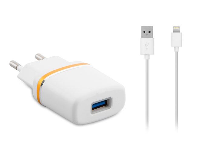 S-link SLP-230 PRO 1000MA iPhone Lightning Kablo + Ev Şarj Adaptör