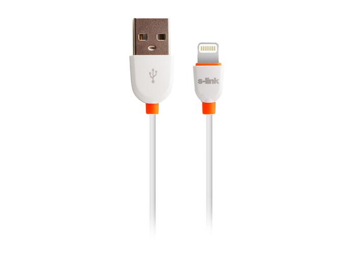 S-link SLP-502 Beyaz iPad/iPhone Lightning Data + Şarj Kablosu
