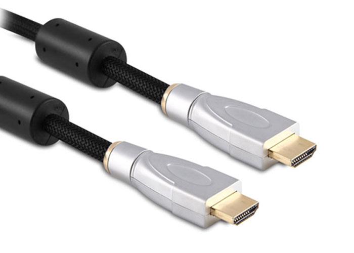 S-link SLX-M464 HDMI TO HDMI 5m Altın Uçlu 24K+ Metal Kon. 1.4 Ver. 3D Kablo