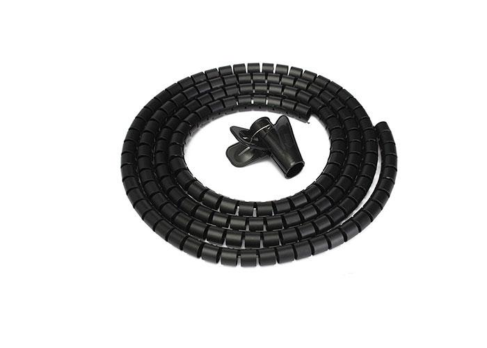 S-Link SL-197 28mm, 20m Siyah Kablo Düzenleyici  Toplayıcı