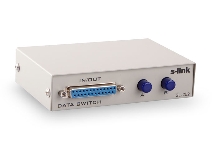 S-link SL-252 2 Port Manuel Switch