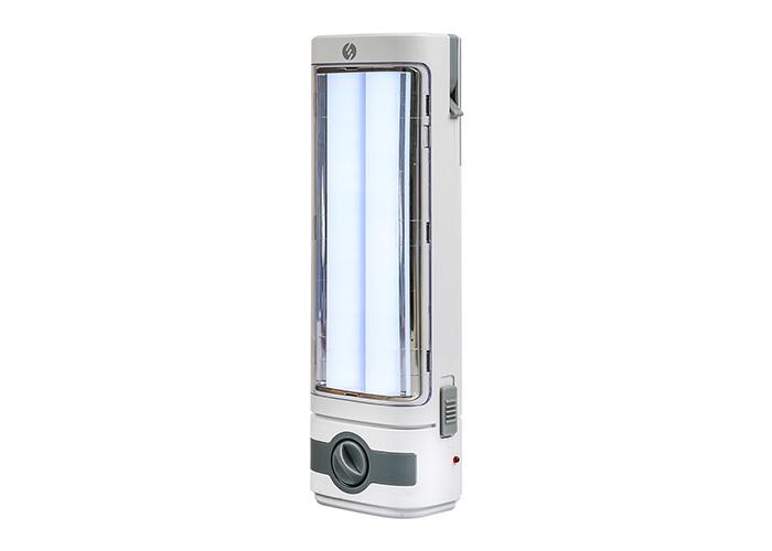 S-link SL-3657 Beyaz-Grey 4V 1500mAh 1+36 Ledli Işıldak