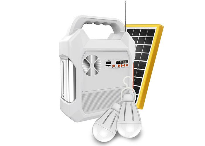 S-link SL-8699 FM-CD CARD-USB-Bluetooth Solar Panel-Led Lamba Taşınabilir,Şarj Edilebilir Işıldak