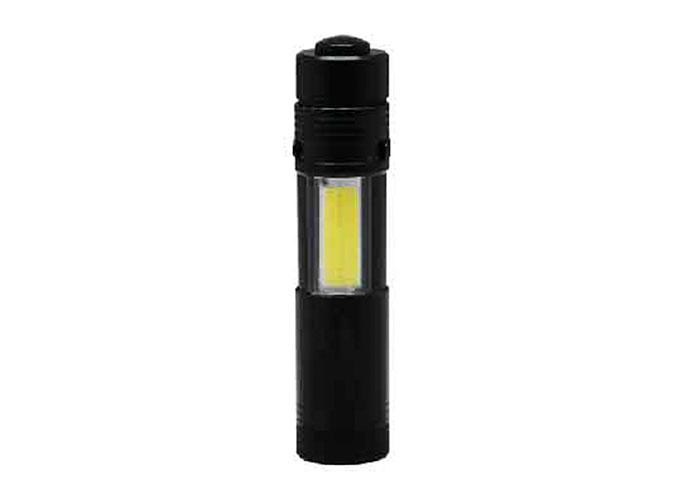 S-link SL-8708 Siyah Mini Taşınabilir Cep Feneri 1*AA Pilli