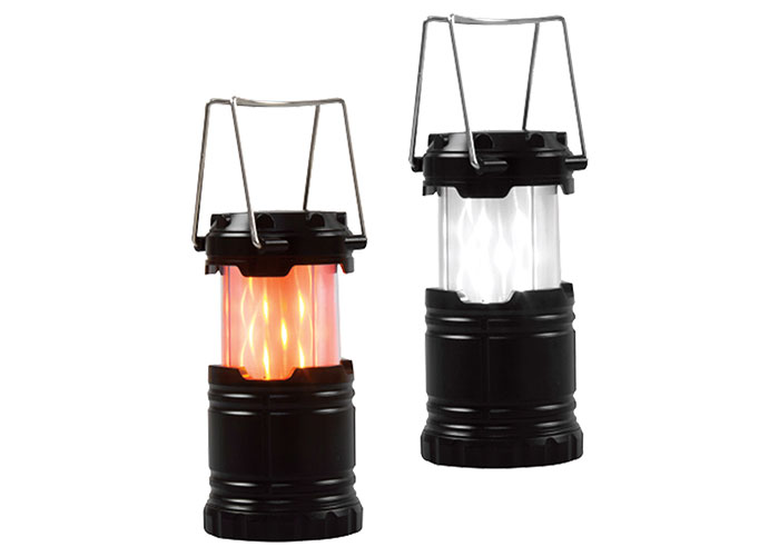 S-link SL-8710 12+21 Led Işıklı Alevli Mini Kamp Lambası 1.5 AAA Pilli