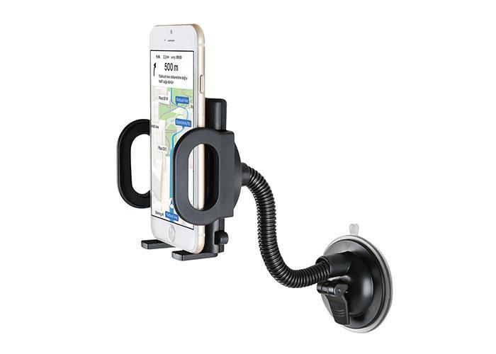 S-Link SL-AT07 Universal Ayarlanabilir Siyah Araç Telefon Tutucu