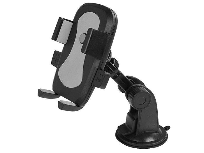 S-link SL-AT16 Universal Adjustable Gray Car Phone Holder