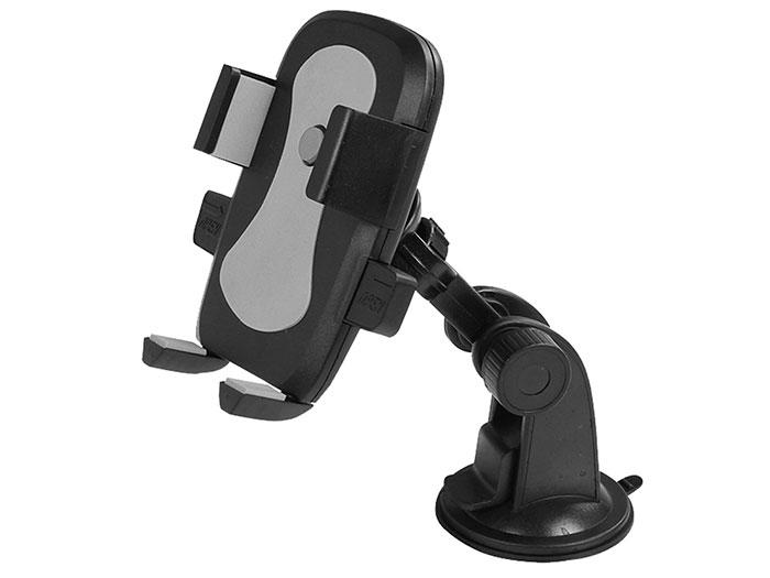 S-link SL-AT16 Universal Ayarlanabilir Gri Araç Telefon Tutucu
