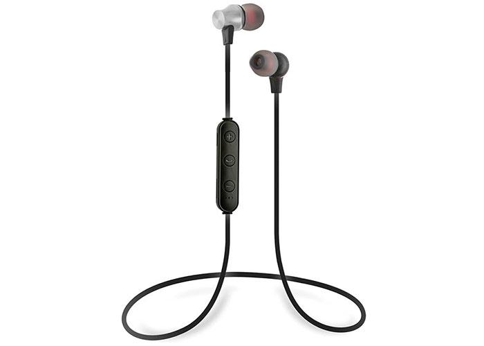 S-link SL-BT45 Mobil Telefon Uyumlu TF Card + Bluetooth Kulalk İçi Gümüş Mikrofonlu Kulaklık