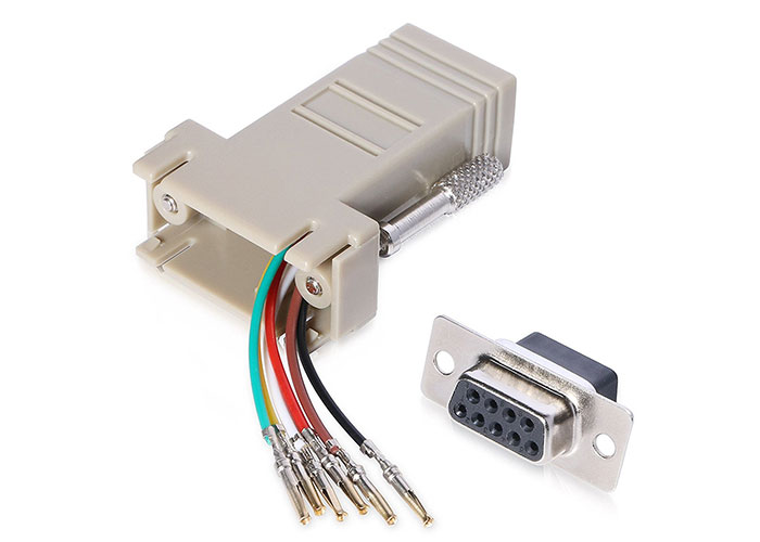 S-link SL-DB910 DB9-MALE TO RJ11/12 Modular Adaptör