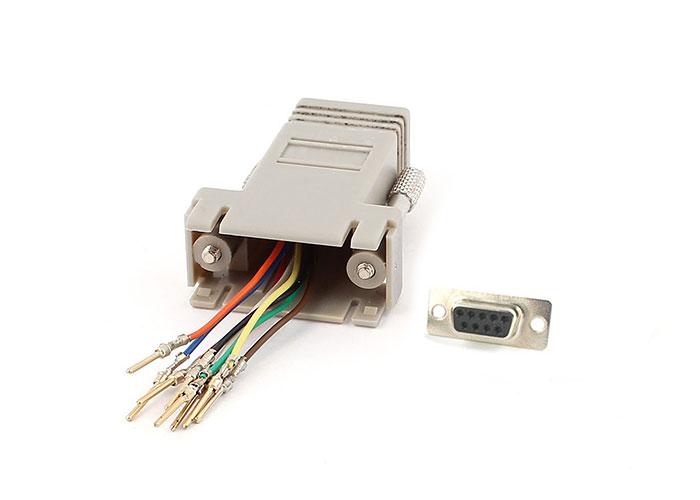 S-link SL-DB915 DB9-MALE TO RJ45 Modular Adaptör