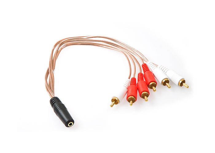 S-link SL-DCR36 DC3.5/F to RCA/M*6 Kablosu